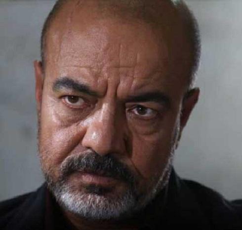 تصویری از گریم سعید آقاخانی در «خون شد» مسعود کیمیایی