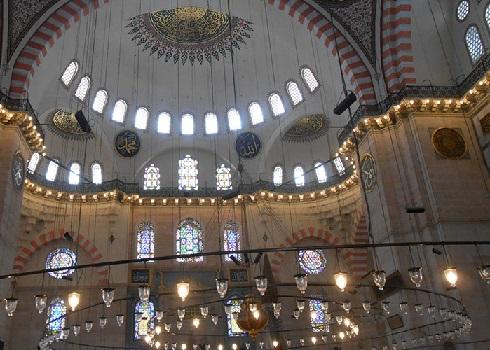 مسجد باشکوه سلیمانیه