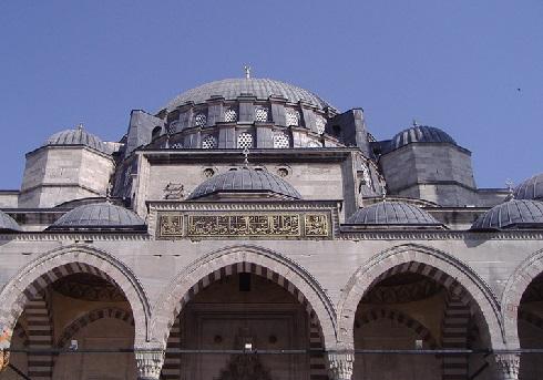 مسجد سلیمانیه در ترکیه
