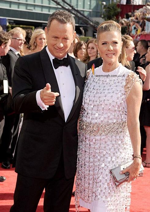تام هنکس و همسرش ریتا نیلسون