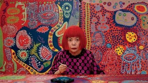 یایویی کوساما گران ترین هنرمند زن جهان