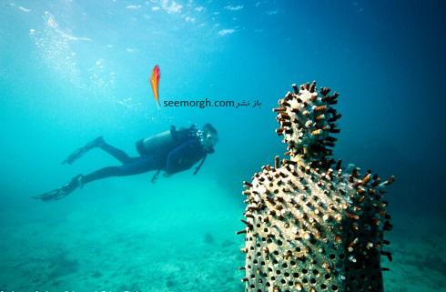 عجیب ترین و دیدنی ترین موزه هنر در زیر آب