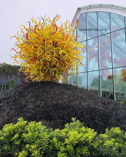 مجسمه های شیشه ایی بی نظیر چیهولی