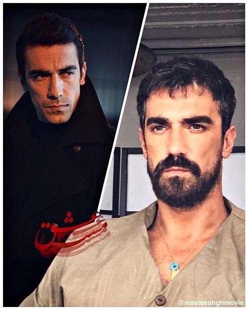 ابراهیم چلیکول بازیگر ترکیه ای مست عشق