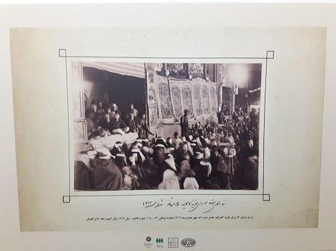 تصاویر عزاداری های قاجار در باغ موزه هنرهای ایرانی