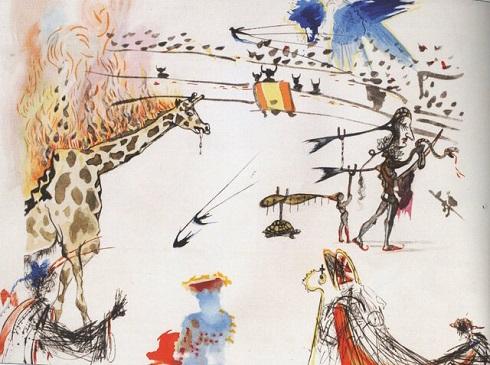 نقاشی سالوادور دالی ربوده شد
