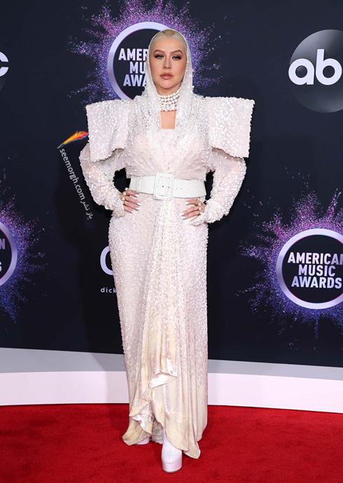 مدل لباس American music awards 2019 - کریستینا آگیلرا Christina Aguilera,مدل لباس,مدل لباس در American Music Awards
