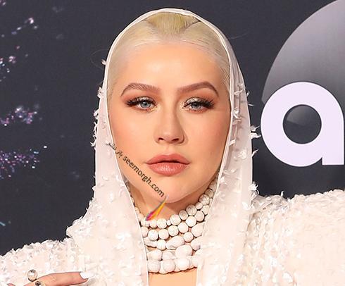 مدل آرایش American music awards 2019 - کریستینا آگیلرا  Christina Aguilera