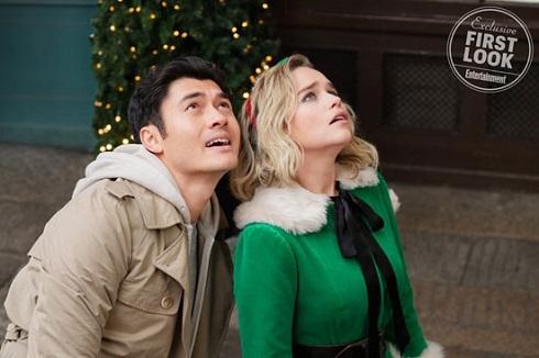 امیلیا کلارک در آخرین کریسمس