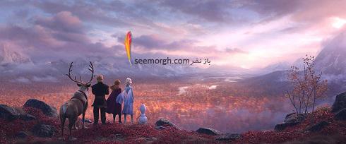 انیمیشن فروزن 2,ملکه برفی 2,منجمد2,کارتون فروزن2