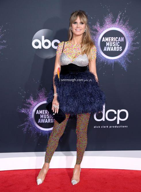 مدل لباس American music awards 2019 - هایدی کلوم Heidi Klum,مدل لباس,مدل لباس در American Music Awards