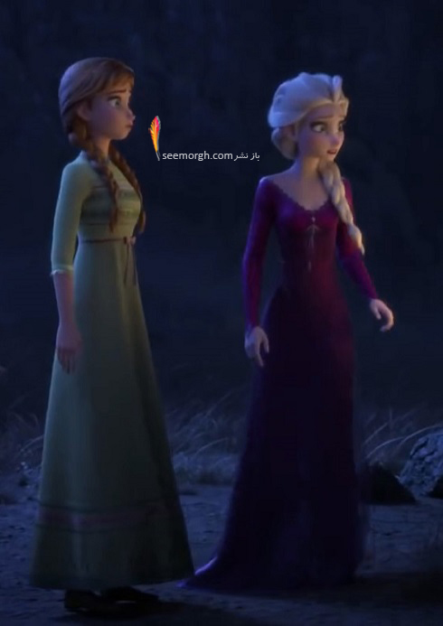 شخصیت های اصلی فروزن Frozen 2 و دوبلورهایشان + تصاویر جدید در جنگل سحرآمیز
