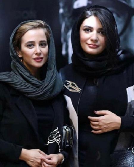 نوید محمدزاده، بهنوش بختیاری، سحر دولتشاهی و ... در مراسم رونمایی آلبوم شجریان و قربانی + عکس