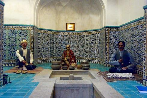 موزه حمام مشهد
