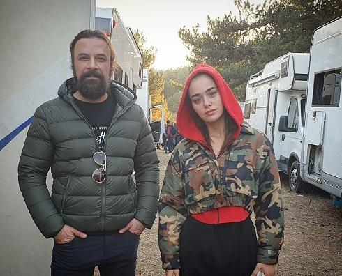 عکس بنسو سورال و حسام منظور