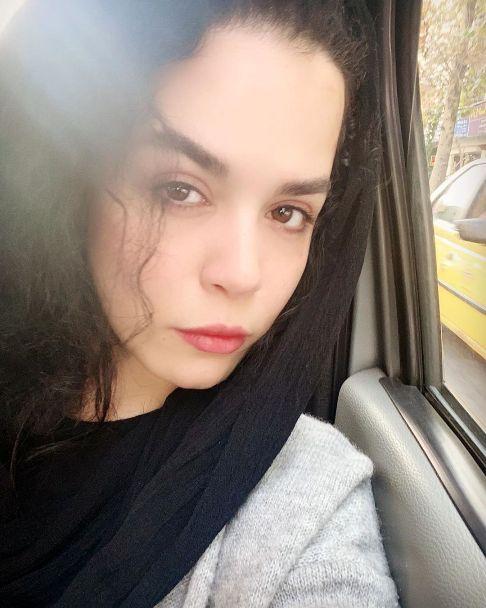 عکس از چهره بدون آرایش ملیکا شریفی نیا