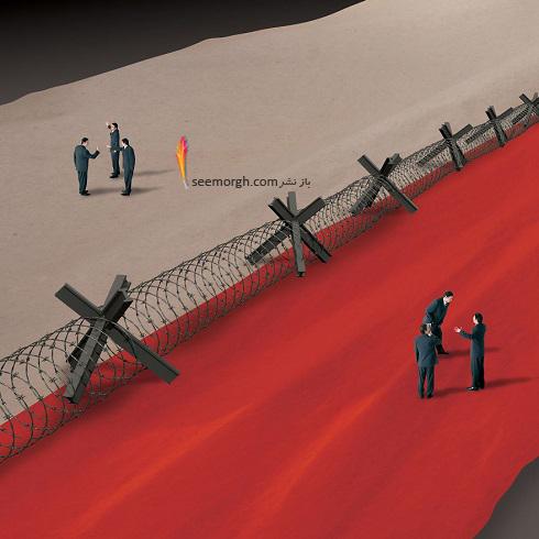 تصویرسازی سیاسی,تصاویر جنجالی سیاسی