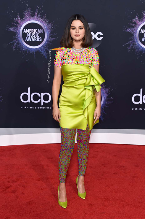 مدل لباس American music awards 2019 - سلنا گومز Selena Gomez,مدل لباس,مدل لباس در American Music Awards