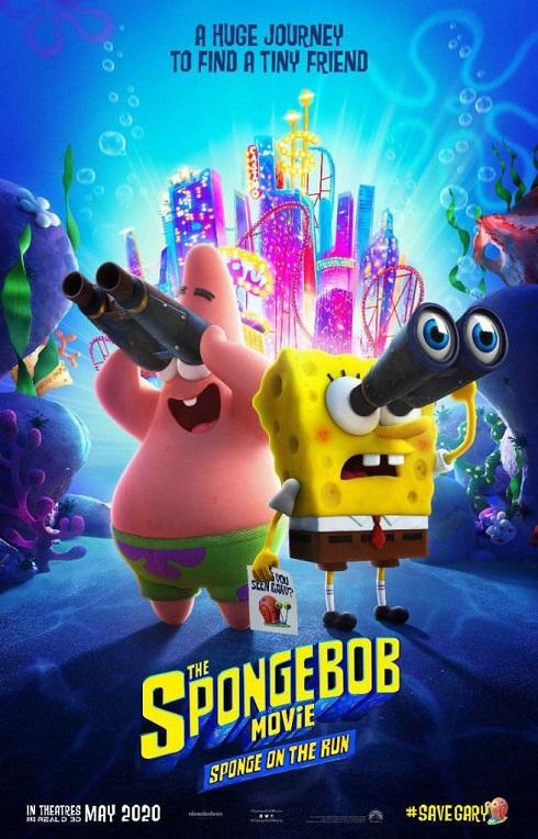 پوستر باب اسفنجی The SpongeBob Movie