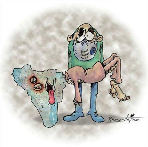 شرایط تهران در زمان آلودگی هوا