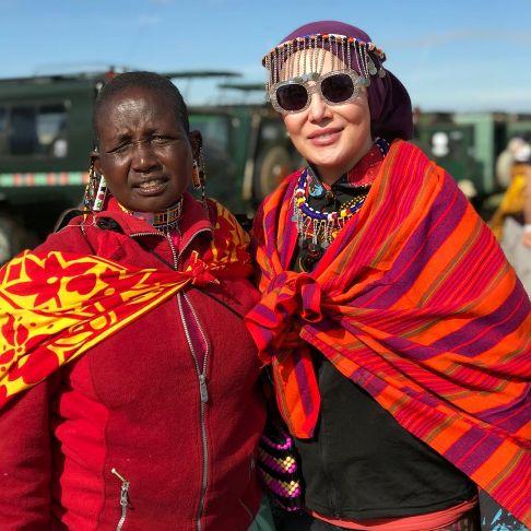 آرام جعفری در آفریقا