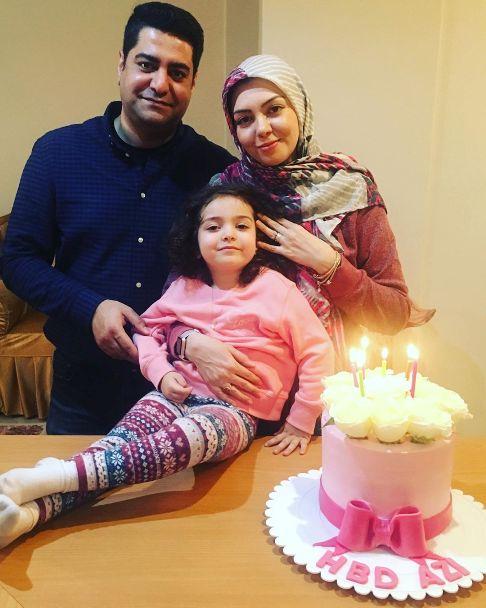 جشن تولد آزاده نامداری