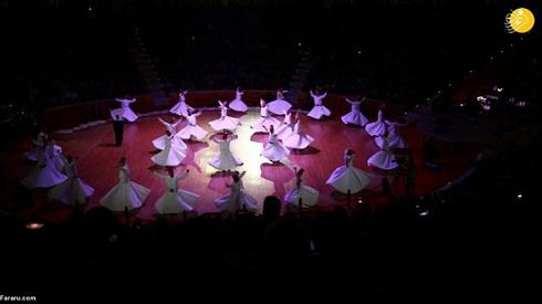 تصاویر رقص سماع در بزرگداشت مولوی