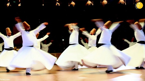 رقص سماع در بزرگداشت مولانا