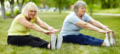 ورزش کردن در پارک
