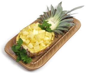 روشهای تزئین آناناس برای شب یلدا,تزیین میوه برای شب یلدا