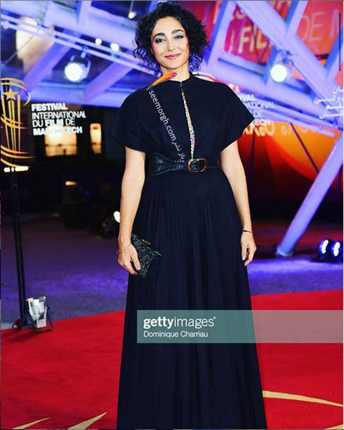مدل لباس گلشیفته فراهانی در جشنواره فیلم مراکش 2019 از برند دیور Dior - عکس شماره 2