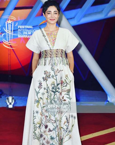 مدل لباس گلشیفته فراهانی در جشنواره فیلم مراکش 2019 از برند دیور Dior - عکس شماره 1