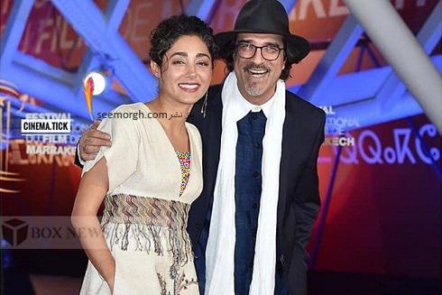 گلشیفته فراهانی در جشنواره فیلم مراکش 2019