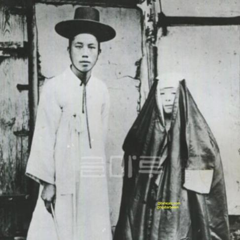 استفاده از چادر توسط زنان کره ای