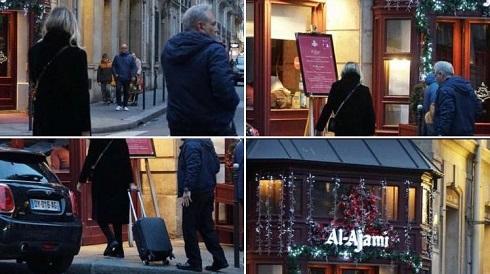 عکس های مهران مدیری با یک زن در پاریس