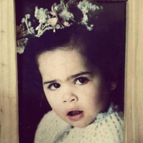 ملیکا شریفی نیا در دوران کودکی