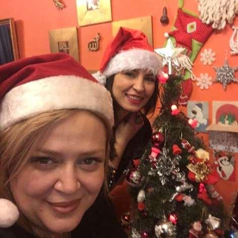 rahnama bahareh1 - عکس های کریسمسی بهاره رهنما