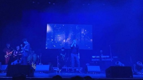 اجرای کنسرت شادمهر عقیلی در واشنگتن