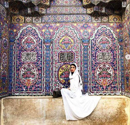 عکس همسر استراماچونی در ایران