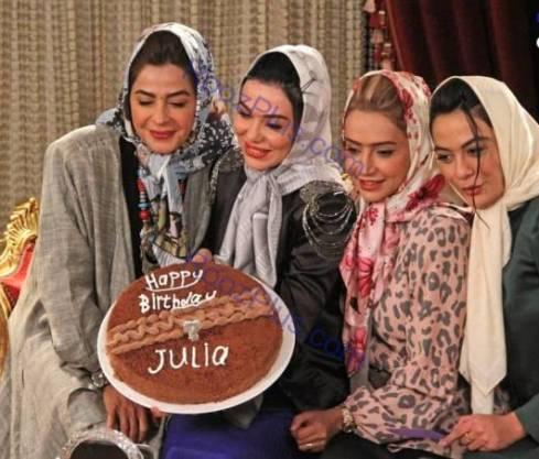 تیپ دهه شصتی بازیگران زن در مسابقه شام ایرانی