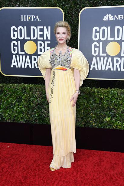 مدل لباس در گلدن گلوب Golden Globes 2020 - کیت بلانشت Cate Blanchett,مدل لباسدر گلدن گلوب 2020