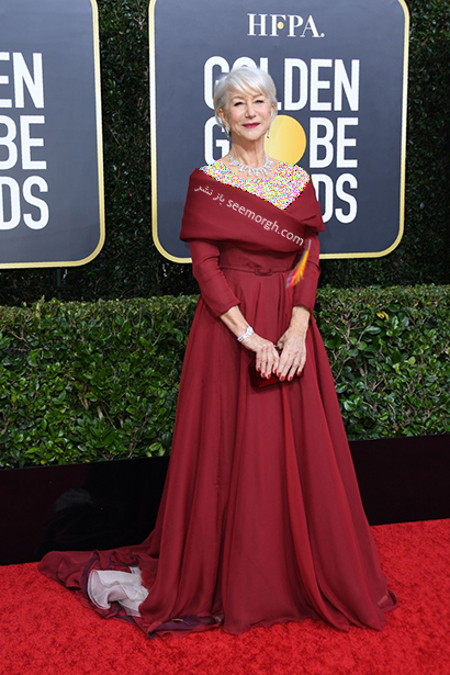 مدل لباس در گلدن گلوب Golden Globes 2020 - هلن میرن Helen Mirren ,مدل لباس در گلدن گلوب 2020