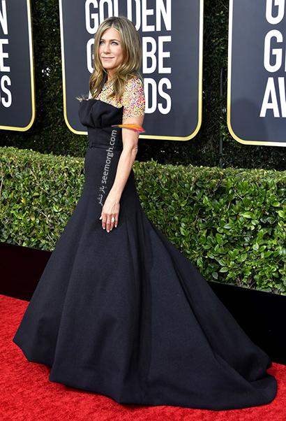 مدل لباس در گلدن گلوب Golden Globes 2020 - جنیفر آنیستون Jennifer Aniston,مدل لباس در گلدن گلوب 2020