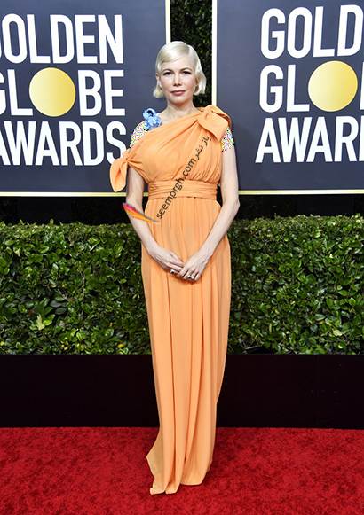 مدل لباس در گلدن گلوب Golden Globes 2020 - میشل ویلیامز Michelle Williams,مدل لباس در گلدن گلوب2020