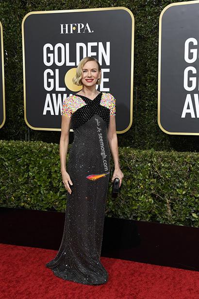 مدل لباس در گلدن گلوب Golden Globes 2020 - نائومی واتس Naomi Watts,مدل لباس در گلدن گلوب 2020