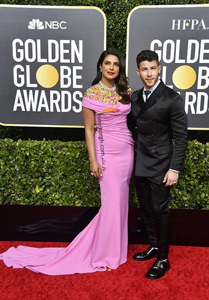 مدل لباس در گلدن گلوب Golden Globes 2020 - پریانکا چوپرا Priyanka Chopra,مدل لباس در گلدن گلوب 2020