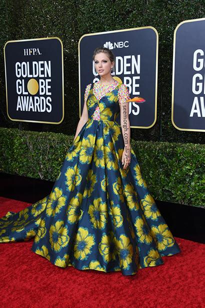 مدل لباس در گلدن گلوب Golden Globes 2020 از تیلور سوئیفت تا چارلیز ترون