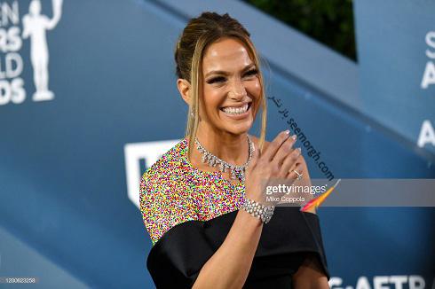 جنیفر لوپز در انجمن بازیگران امریکا SAG Awards 2020