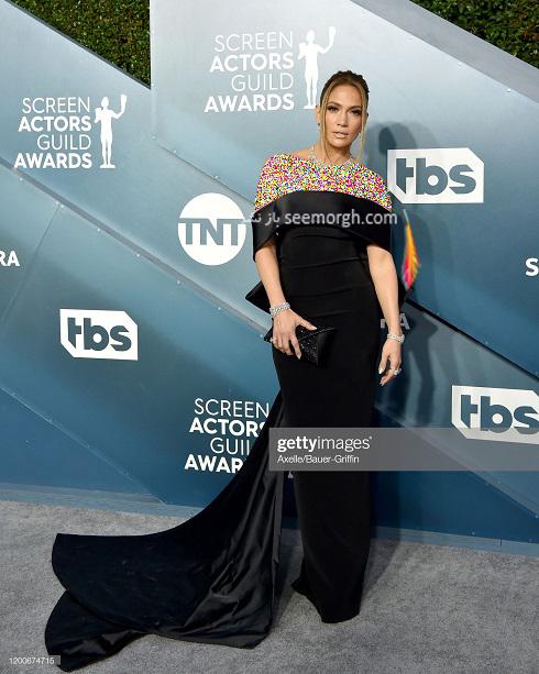 جنیفر لوپز در مراسم انجمن بازیگران امریکا 2020