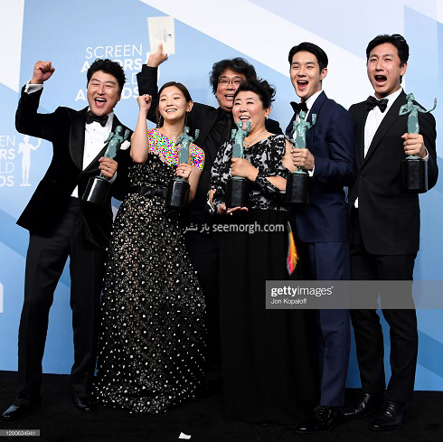 برندگان انجمن بازیگران آمریکا SAG Awards 2020,عکس بازیگران هالیوود